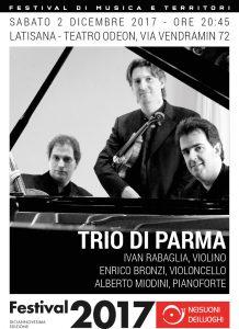 Locandina del Trio di PArma